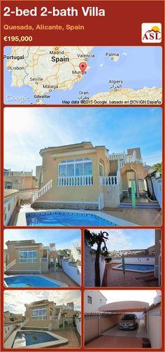 2-bed 2-bath Villa in Quesada, Alicante, Spain ►€195,000 #PropertyForSaleInSpain