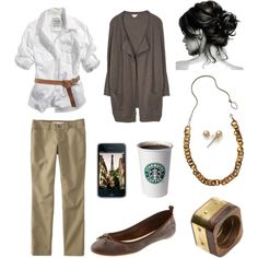 Love this!  Need those pants, shirt, and well ... everything.  Shades of beige <3