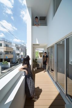 Gallery of Kitasenzoku Apartment / Tomoyuki Kurokawa Architects - 9