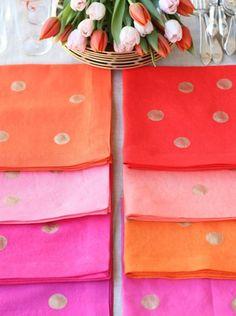 cute napkins for ceremony snacks?