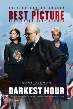 "Darkest Hour (Academy Award for ""Best Actor"": Gary Oldman, Academy Award for Best Makeup and Hairstyling) - British war drama film, 2017"