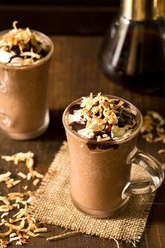 Toasted Coconut Frozen Hot Chocolate Really nice recipes. Every  Mein Blog: Alles rund um Genuss & Geschmack  Kochen Backen Braten Vorspeisen Mains & Desserts!