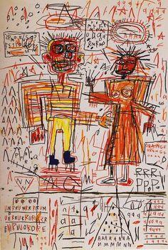 artgods: Self Portrait | Jean-Michel Basquiat