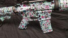 The Best Concealed Carry Guns For Women - Allgunslovers Concealed Carry Weapons, Best Concealed Carry, Kimber Pro Carry Ii, Pink Pistol, Best Handguns, Gun Art, Skulls And Roses, Custom Guns, Cool Guns