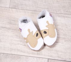 Starchild Giraffe Pumps - soft leather shoes perfect for tiny feet...£18.00