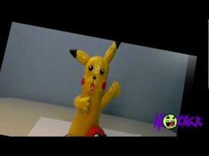 Pikachu de plastilina - YouTube