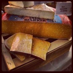 Day #286 - Old Remeker cheese as rich as butterscotch from @cheeseboardUK @cheesewinefest on the southbank