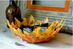 Homemade Leaf Bowl | Make It @ Your Library
