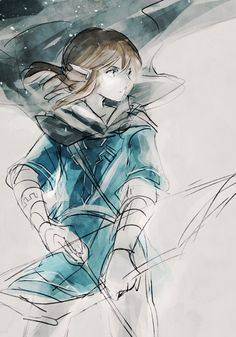 Link Sketck with colour.