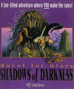 Quest for Glory IV: Shadows of Darkness. Circa 1993