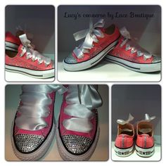 Crystal shoes by lace