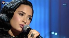 Demi Lovato performing You Don't Know Me at Ray Charles' Tribute at the ...