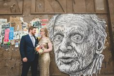 Revolution Brewing Wedding Photography | Melissa and Chris Photo