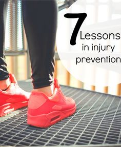 Lessons In Injury Prevention for Runners - applies to beginners to long time runners