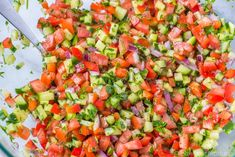 Israeli Salad is a must make Middle Eastern Recipe that is full of flavor! This salad is also known as Shirazi Salad (Persian Cucumber and Tomato Salad). Kebab Recipes, Healthy Salad Recipes, Pasta Recipes, New Recipes, Cooking Recipes, Recipe Pasta, Kofta Kebab Recipe, Portuguese Recipes, Middle Eastern Recipes