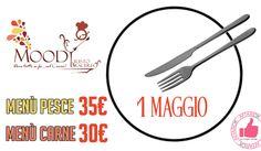Moody | Menù 1 Maggio http://affariok.blogspot.it/