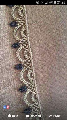 59 Most Unique Crochet Needlework Models Blueboxbraids - Diy Crafts - DIY & Crafts Crochet Boarders, Crochet Edging Patterns, Crochet Lace Edging, Unique Crochet, Crochet Designs, Crochet Doilies, Filet Crochet, Col Crochet, Crochet Trim