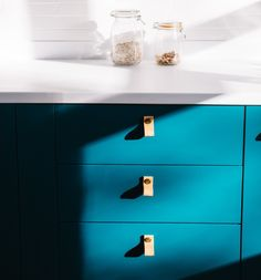 Bespoke Shaker Doors Upgrades For IKEA Kitchens. Shaker Doors, Bespoke Kitchens, Ikea Kitchens, Beautiful Homes, Shelves, Cabinet, Ikea Hacks, Furniture, Home Decor