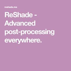 ReShade - Advanced post-processing everywhere. Best Mods, Sims 4, Maxis, Game, Gaming, Toy, Maxi Skirts, Games, Maxi Dresses