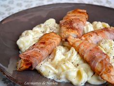 Recette de Pâtes orecchiette à la sauce Reblochon et poulet au lard fumé : la recette facile