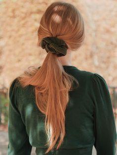 Scrunchies, Dreadlocks, Long Hair Styles, Beauty, Long Hairstyle, Long Haircuts, Dreads, Long Hair Cuts, Beauty Illustration
