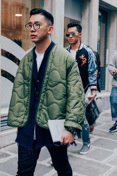 The Most Stylish Men at Paris Fashion Week