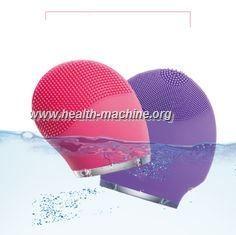 awesome Cepillo del lavado de la cara del silicón de la vibración/cepillo de limpiamiento facial electrónico