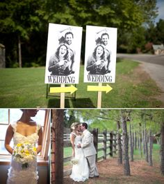 Great signs to make sure your guest can find your wedding venue!