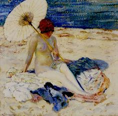 Frieseke     In my former life, I was a model.