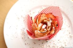 Bäckerei: Apfelröschen mit Blätterteig