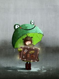 Mr. Hanuman's bag by Emilia Dziubak, via Behance