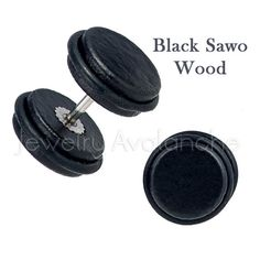 Black Sawo Wood Organic Fake Plugs with Rubber O-Ring, Screw-on Surgical Steel Cheater Plugs, His & Hers, Organic Wood Plugs Fake Plugs, Wood Plugs, Surgical Steel Earrings, Cheaters, O Ring, Organic, Trending Outfits, Unique Jewelry, Etsy