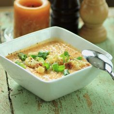 Curried cauliflower, Cauliflower soup and Cauliflowers on Pinterest