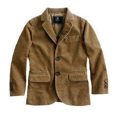 J.Crew - Boys' unconstructed Ludlow sportcoat in corduroy
