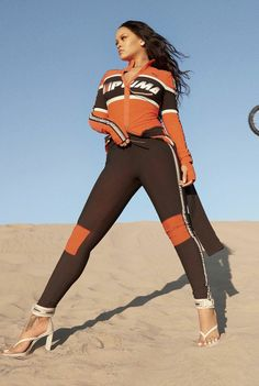 Rihanna for Fenty x Puma Style Rihanna, Rihanna Looks, Rihanna Outfits, Rihanna Photoshoot, Moda Rihanna, Rihanna Riri, Look Fashion, Sport Fashion, Mode Top
