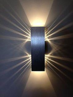 Resultado de imagen de apliques pared luz superior diseño