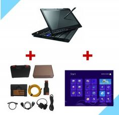 BMW ICOM A2+B+C comes with thinkpad x200t laptop and icom a2 software installed, ICOM A2 plus thinkpad x200t with software installed can be ready to use, ICOM A2 software installed on windows 8 os, runs faster and more stable.