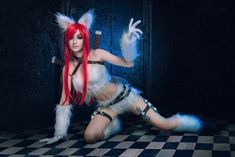 League of Legends - Katarina kitty Cat by Axilirator.deviantart.com on @DeviantArt