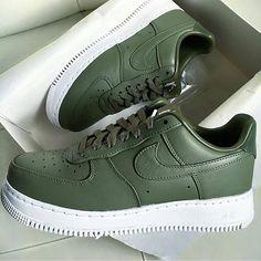 pair of khaki shoes