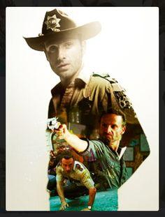 The Walking Dead .. Rick Grimes
