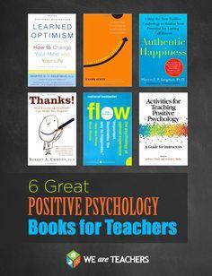 Positive psychology books for teachers