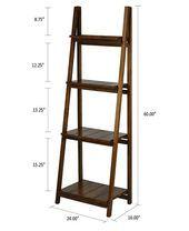 DIY Ladder Shelf – making it in the mountains - New ideas Ladder Shelf Decor, Ladder Bookshelf, Diy Ladder, Bookcase, Leaning Bookshelf, Diy Furniture Projects, Diy Furniture Plans, Rustic Furniture, Folding Furniture
