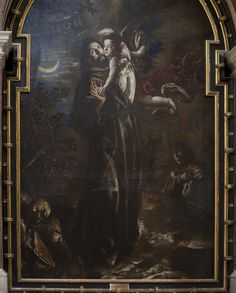 Stigmatization of St. Francis of Assisi Unknown artist Burgos Cathedral