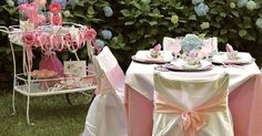 "little girls tea party ideas | tea party ""party in a box"" styling - Celebrations At Home blog 