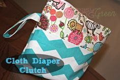 Enter to Win This BEAUTIFUL Diaper (or Cosmetic) Clutch