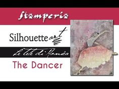 The Dancer - Mixed Media Canvas Tutorial Mixed Media Canvas, Mixed Media Art, The Dancer, 3d Tutorial, Rice Paper, Canvases, Decoupage, Scrap, Journal
