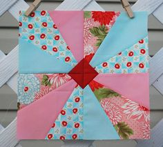 Hyacinth Quilt Designs - I have those fabrics in my stash!