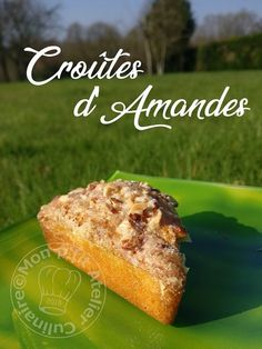 Croûtes d'Amandes Mini Cakes, Cheesecakes, Tea Time, Banana Bread, French Toast, Triangle, Sweets, Breakfast, Grands Parents
