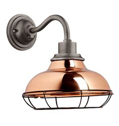 """Carson 12"""" Wall Sconce with Cage -   Rejuvenation"""
