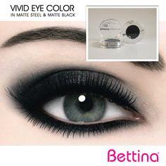 """¿Sabías que tenemos sombras para ojos en una gran cantidad de colores?Nuestra #Bettina """"Vivid Eye Color Eyeshadow"""" está disponible en colores neutrales e intensos, ¡todos de larga duración!"""